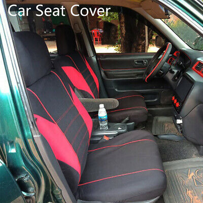 Universal Car Seat Covers Front Head Rests Full Set Auto Seat Cover