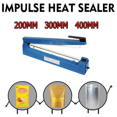 Impulse Heat Sealer Electric Plastic Poly Bag Sealing Machine Pure Copper