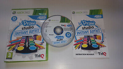 * XBOX 360 Game * UDRAW STUDIO INSTANT ARTIST * GAME ONLY