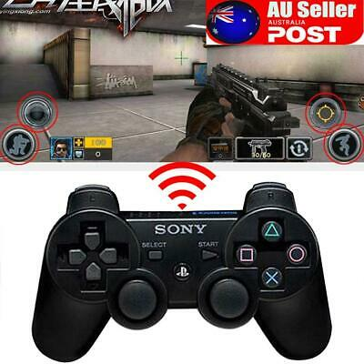 Wireless Bluetooth Game Controller Dual Vibration Gamepad For PS3 PlayStation 3