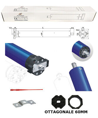 Kit Motore Per Tapparella 30 Nm 80Kg Elettrica Automatismo Nice Faac Came Somfy