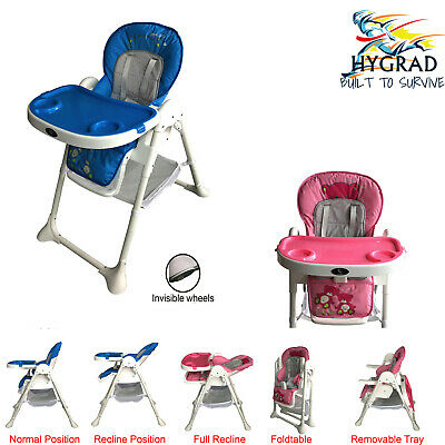 Multifunction Portable 3 IN 1 Baby High Chair Infant Toddler Feeding Nursery UK