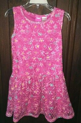 1d6770c7c GIRLS XS 4-5 Hello Kitty Pink Dress Lacey Overlay - $6.99 | PicClick