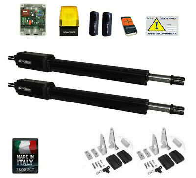 Kit Cancello Battente 230V Pistoni Bracci Apri Cancello Professionale