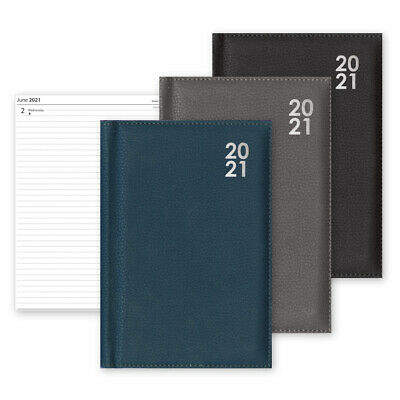 2020 Diary A4/A5/A6 Day to Page or Week to View Desk Diary Premium Padded