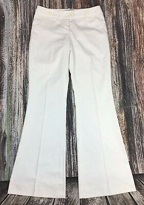 New (other) The Limited Womens Cassidy Fit Flare Stylish Formal Pants White Sz 4