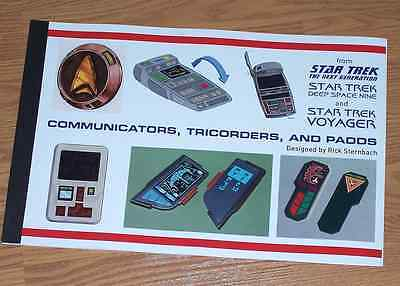 Star Trek TNG DS9 Voyager Coms Tricorders PADDs Development Booklet
