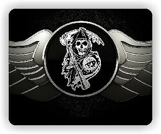 Sons Of Anarchy Mouse Mat Mouse Pad Computer Accessory