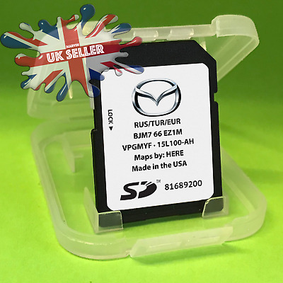 2019 - 2020 Mazda Mzd Connect Navigation Sat Nav Sd Card Map 2 3 6 Cx-3 Cx3 Mx5