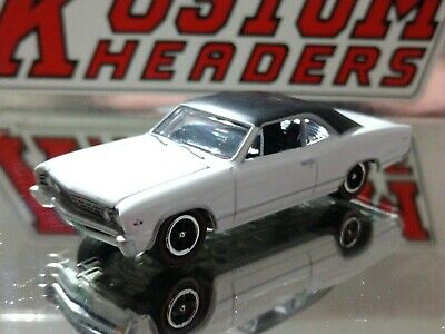 67 Chevy Chevelle Malibu Classic Adult Collectible 1/64 Scale Limited Edition Wt