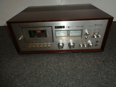 1970's Vintage Kenwood Stereo Cassette Deck Model KX-1030  Clean-Tested-Working