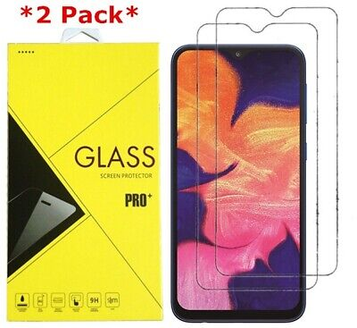2-Pack Premium Real Tempered Glass Screen Protector For Samsung Galaxy A10 2019