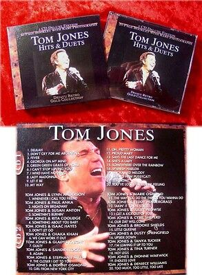 2CD Box Tom Jones Hits and Duets with Booklet Guests Pa