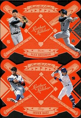 2019 Panini Leather & Lumber Leather And Lumber Insert Singles - Pick & Complete