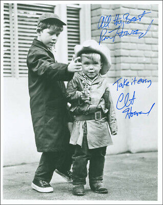 The Andy Griffith Show Tv Cast - Autographed Signed Photograph With Co-Signers
