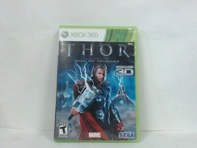 THOR: GOD OF THUNDER Xbox 360 w/ Original Box Good