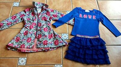MustSee Designer Outfit * Mim-Pi Rose Coat & 2Piece Love Top & Nett Frill Skirt