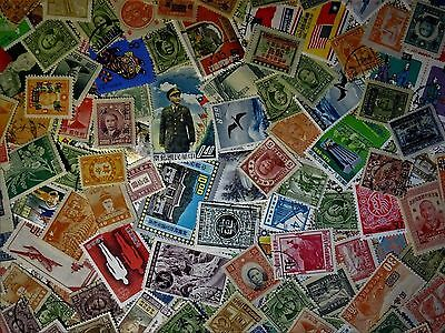 15 Different CHINA Stamps from Large Estate Hoard Worldwide Stamp Lot Collection