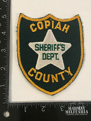 NOXUBEE COUNTY MISSISSIPPI SHERIFF'S DEPARTMENT PATCH Vintage