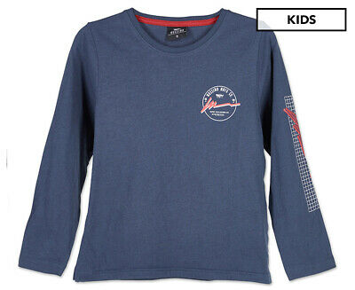 Mossimo Boys' Bay Long Sleeve Tee - Midnight Ink
