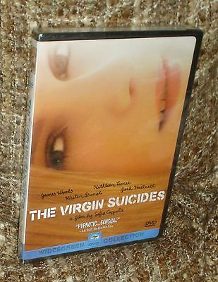 The Virgin Suicides Dvd, New And Sealed, Widescreen Edition, With Kirsten Dunst