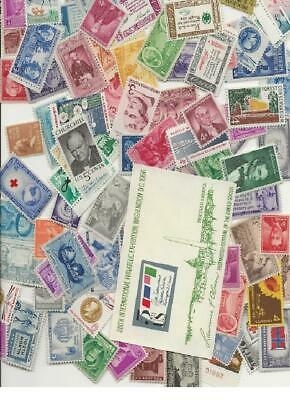 Crazy Deals At Least 50 Stamps At Least 50 Years Old;  Mint Nh, All Different