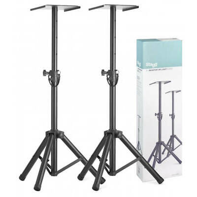 Stagg SMOS-20 SET Adjustable Studio Monitor Stands - Set of 2