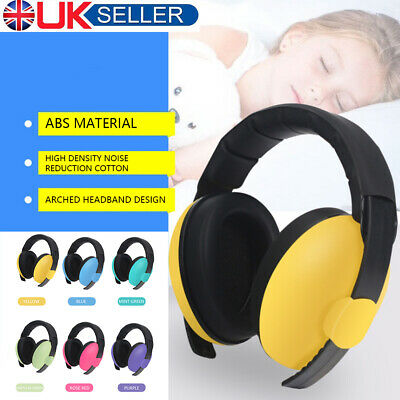 Kids Girls Boys Ear Defenders Baby Noise Cancelling Headset Headphone Safety LO
