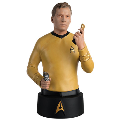 Captain Kirk Büste - Star Trek -  - Metall Neu