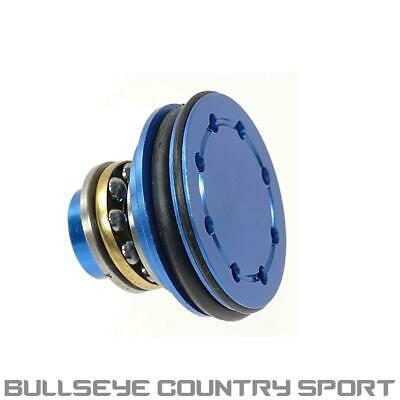 Super Shooter Cnc Alloy Airsoft Bearing Piston Head Blue PT0019 O-Ring
