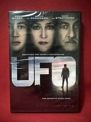 UFO 2018 DVD NEW Gillian Anderson, Alex Sharp