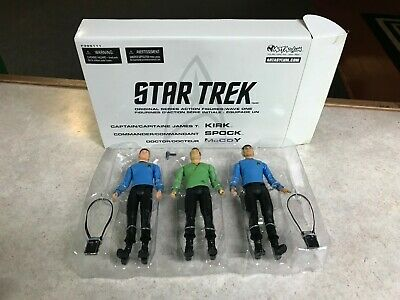 2003 Art Asylum Star Trek Original Series Wave One Action Figure Set NIB