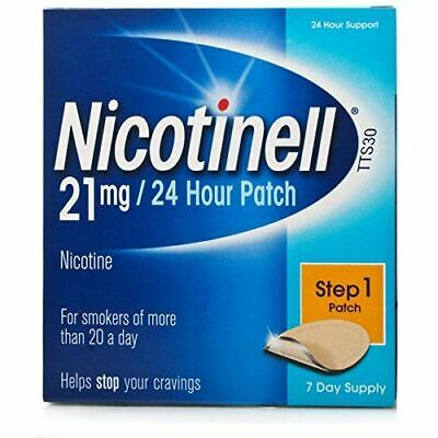 Nicotinell TTS30 21mg/24 Hour Patch Step 1 21 Day Supply