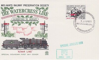 STAMPS STEAM RAILWAY SOUVENIR / FIRST DAY COVER FROM RARE COLLECTION No 002