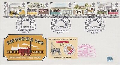 STAMPS STEAM RAILWAY SOUVENIR / FIRST DAY COVER FROM RARE COLLECTION No 003