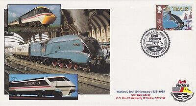 STAMPS STEAM RAILWAY SOUVENIR / FIRST DAY COVER FROM RARE COLLECTION No 005