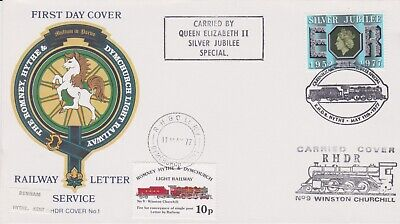 STAMPS STEAM RAILWAY SOUVENIR / FIRST DAY COVER FROM RARE COLLECTION No 021