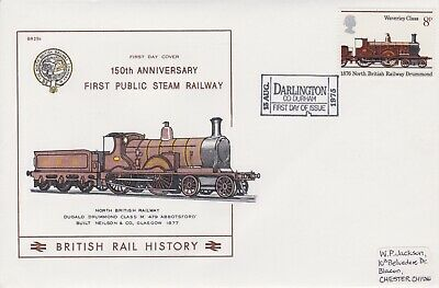 STAMPS STEAM RAILWAY SOUVENIR / FIRST DAY COVER FROM RARE COLLECTION No 028