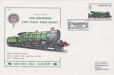 STAMPS STEAM RAILWAY SOUVENIR / FIRST DAY COVER FROM RARE COLLECTION No 029