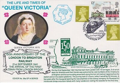 STAMPS STEAM RAILWAY SOUVENIR / FIRST DAY COVER FROM RARE COLLECTION No 038