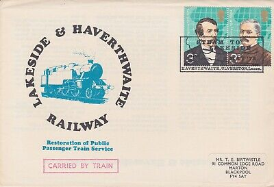 STAMPS STEAM RAILWAY SOUVENIR / FIRST DAY COVER FROM RARE COLLECTION No 040