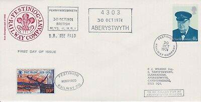 STAMPS STEAM RAILWAY SOUVENIR / FIRST DAY COVER FROM RARE COLLECTION No 065