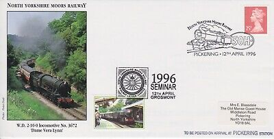 STAMPS STEAM RAILWAY SOUVENIR / FIRST DAY COVER FROM RARE COLLECTION No 078
