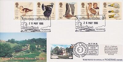 STAMPS STEAM RAILWAY SOUVENIR / FIRST DAY COVER FROM RARE COLLECTION No 105