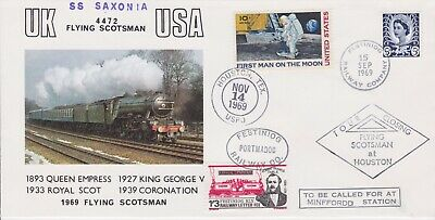 STAMPS STEAM RAILWAY SOUVENIR / FIRST DAY COVER FROM RARE COLLECTION No 108