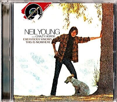 NEIL YOUNG with CRAZY HORSE-Everybody Knows This Is Nowhere CD 2009 Folk/Country