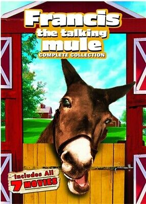 FRANCIS THE TALKING MULE COMPLETE COLLECTION New DVD All 7 Films Donald O'Connor