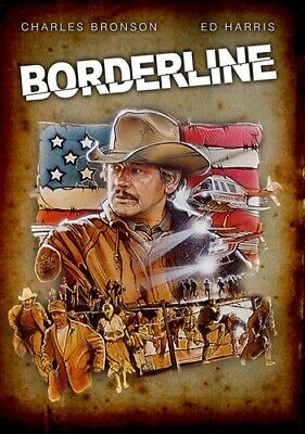 BORDERLINE New Sealed DVD Charles Bronson Ed Harris