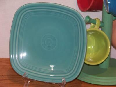 """Fiesta® TURQUOISE 7-/14"""" Square Salad Plate"""