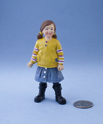 Dollhouse Miniature Doll Girl Little Sister 1:12 inch scale E30 Dollys Gallery